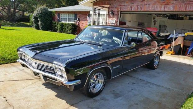 Caset Winners' 1966 Impala SS
