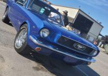 Sky Blue Mustang