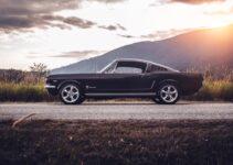 Black Classic Mustang