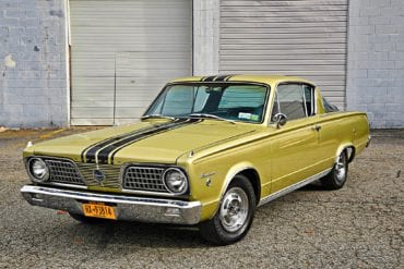 The 1966 Plymouth Barracuda
