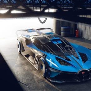 The Bugatti Bolide