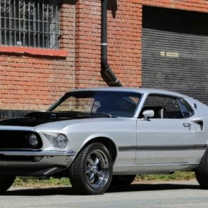 The 1969 Ford Mustang Mach 1 Cobra Jet