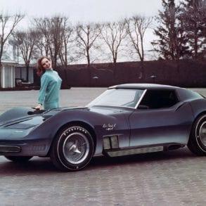 The 1969 Chevrolet Corvette Stingray ZL1
