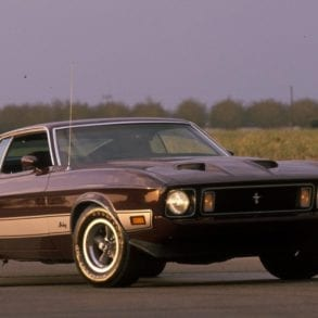 The 1973 Ford Mustang