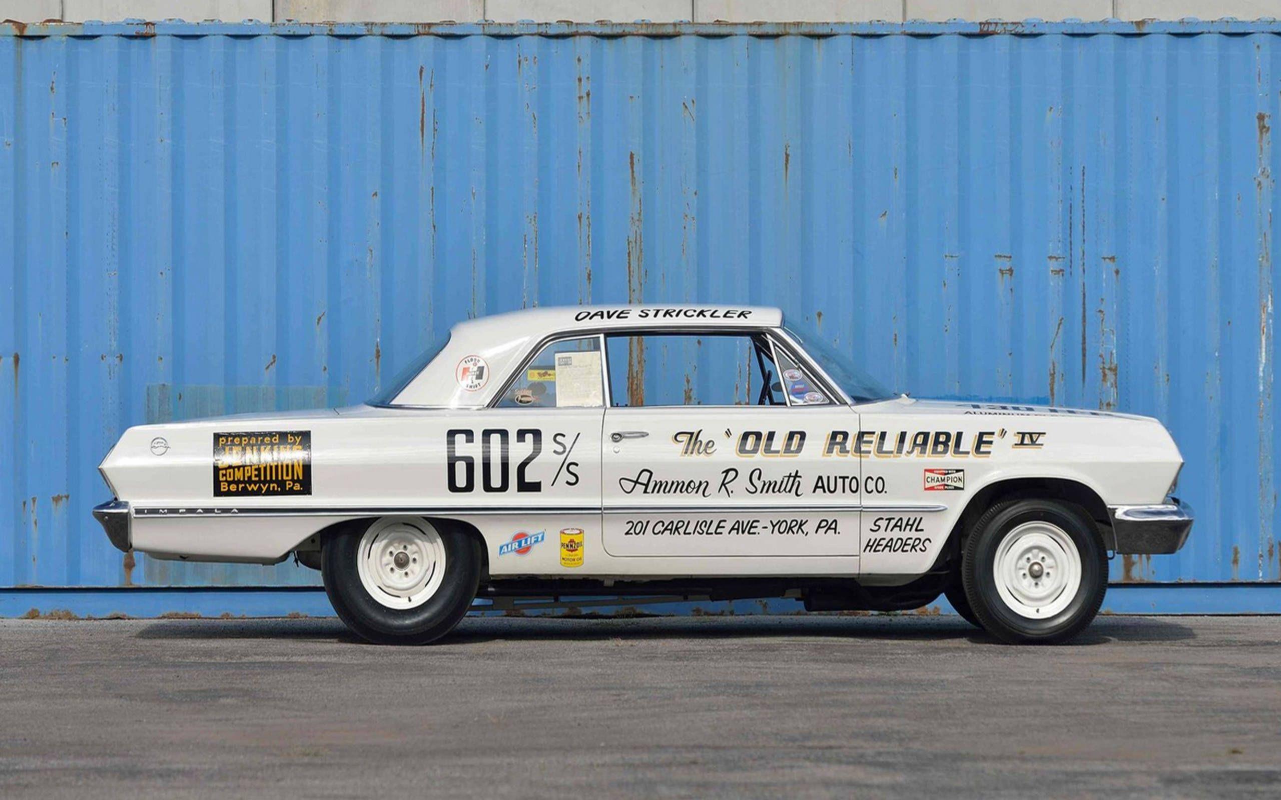The 1963 Chevrolet Impala Z11 Lightweight