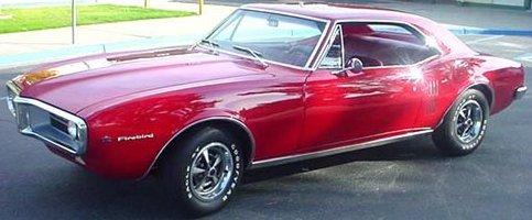 1967 firebird coupe