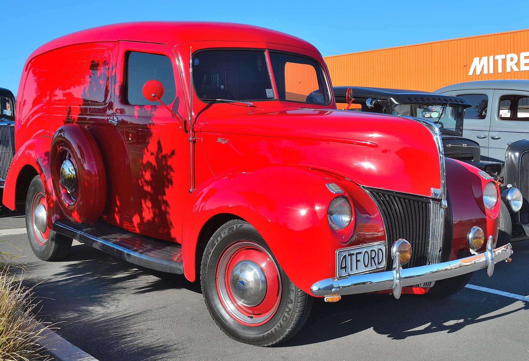 1940 Ford V8 Panel Van