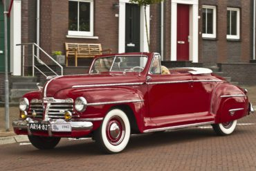 1942 Plymouth Special Deluxe Convertible Coupe