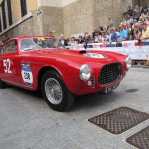 Ferrari 212 Inter Coupe by Vignale