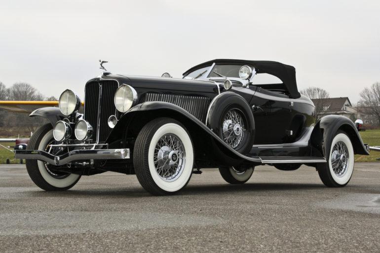 1932 Auburn V12 160A Speedster