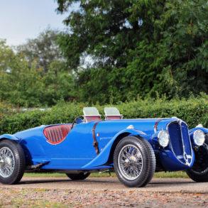 1935 Delahaye 135 Coupe des Alpes