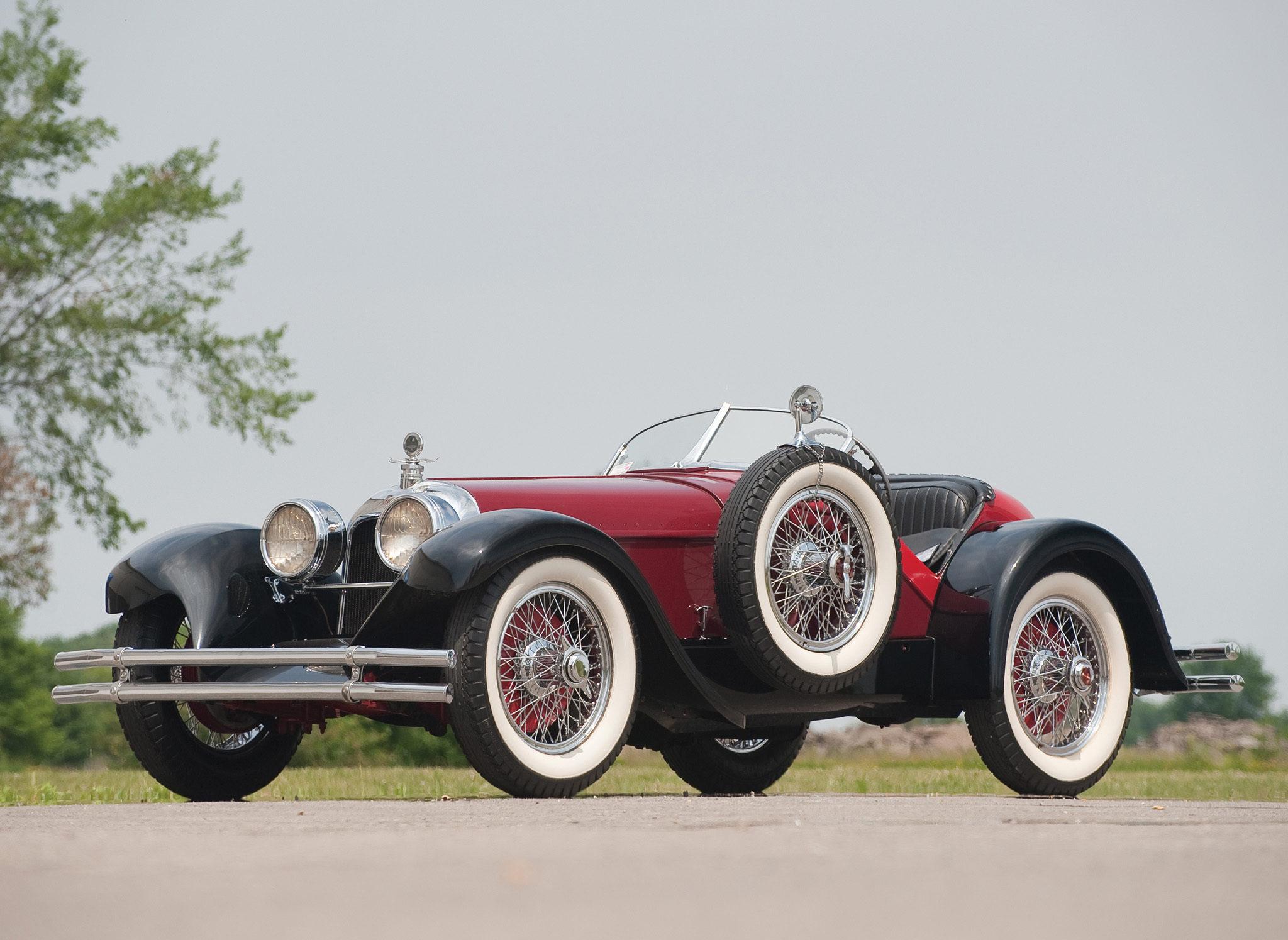 1924 Duesenberg A Speedster