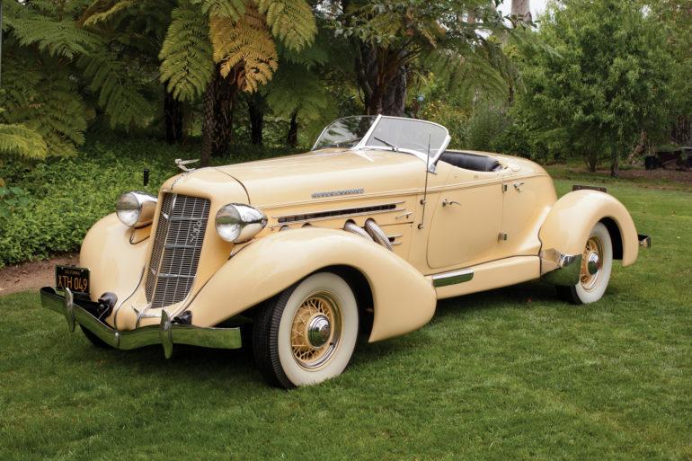 1935 Auburn 851 SC Speedster