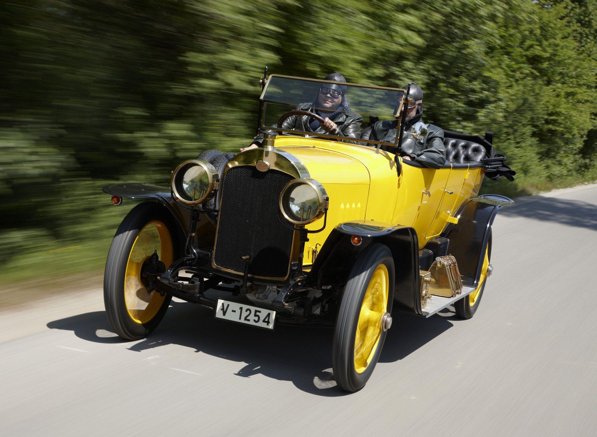 1912 Audi Type C 14/35 PS Alpensieger