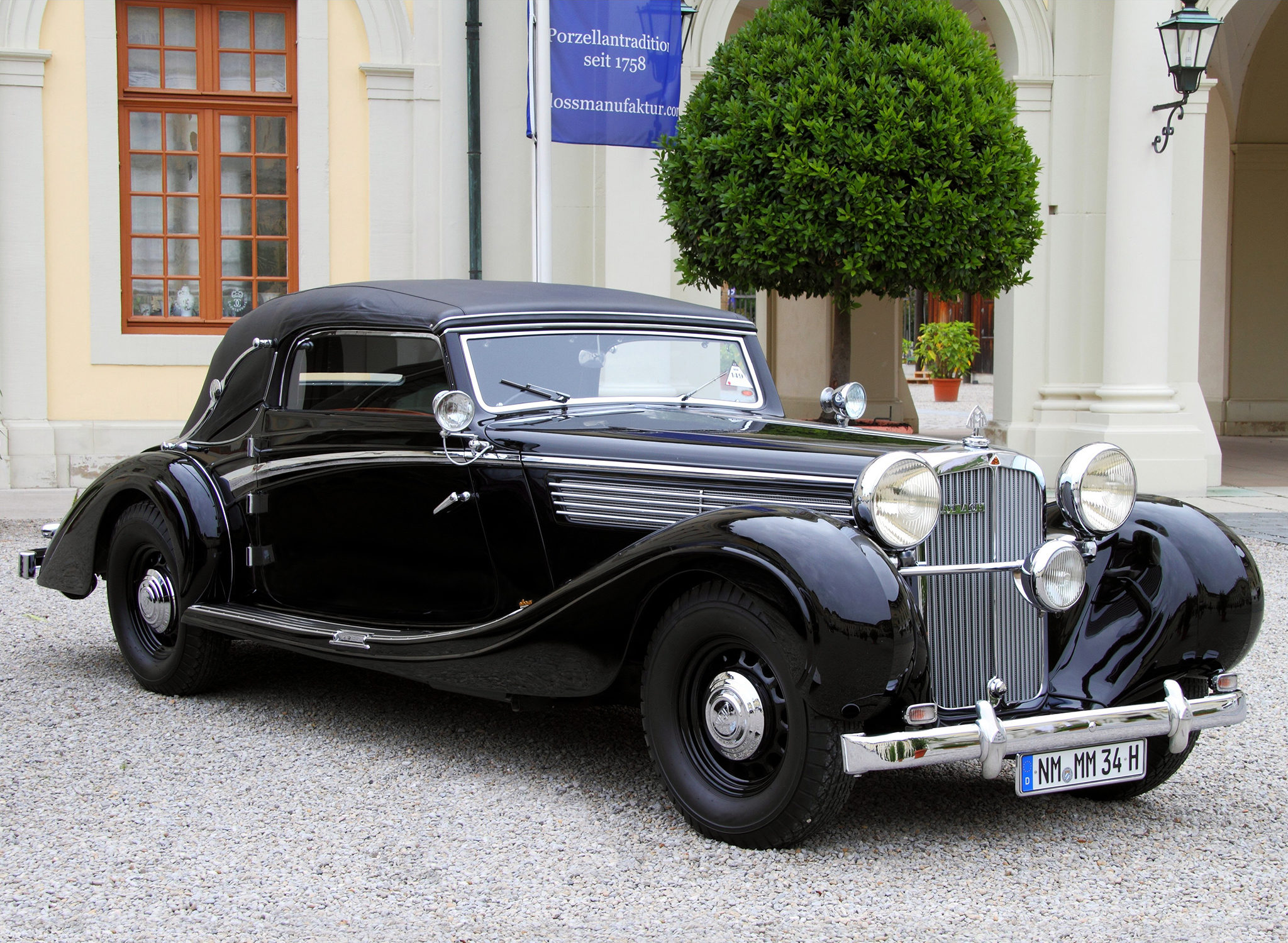 1938 Maybach SW38