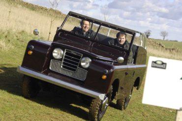 1958 Land Rover Series II Royal Car