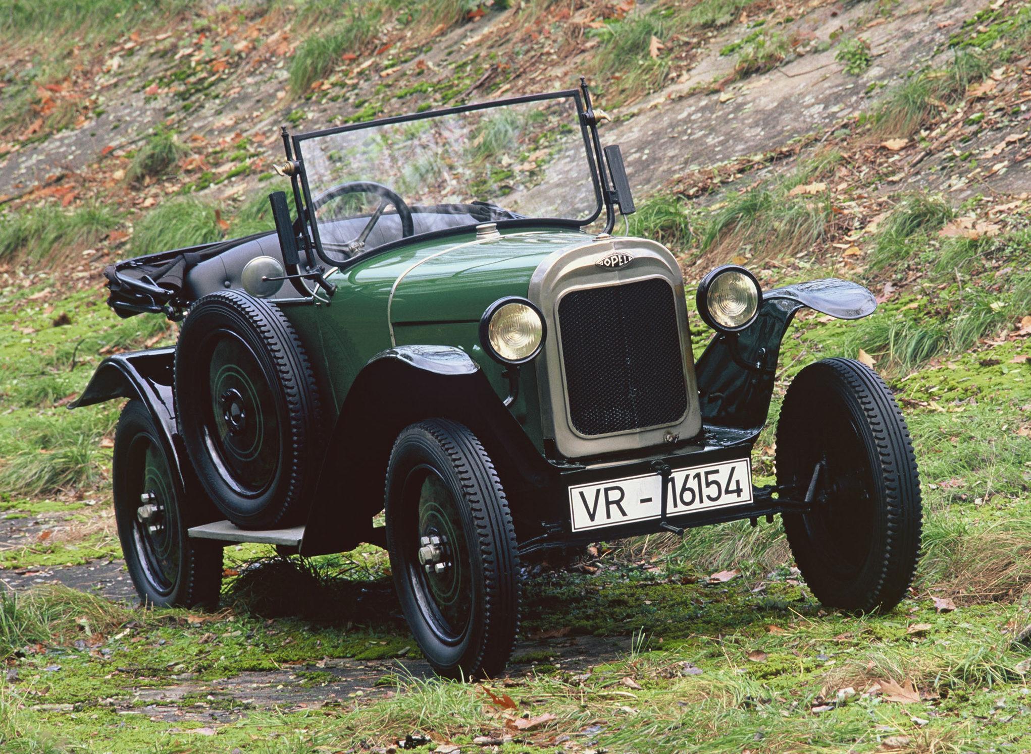 1924 Opel 4/12 PS Laubfrosch