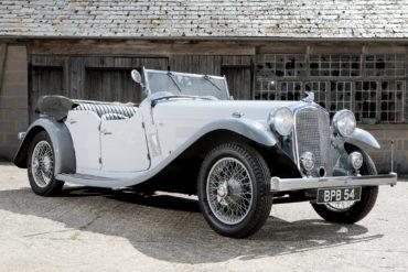 1933 Rover Speed Pilot Sports Tourer